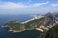 View of Rio de Janeiro and Copacabana from Pao de Acucar | Flickr - Photo Sharing!