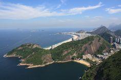 View of Rio de Janeiro and Copacabana from Pao de Acucar | Flickr - Photo Sharing!
