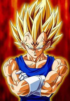 Goku Vs Majin Vegeta Dragon Ball Z Episode Fight. How strong was Majin Vegeta vs Goku? Did Vegeta had a chance when he when up against Goku in the Buu Saga? Dragon Ball Gt, Dragon Ball Image, Goku E Vegeta, Son Goku, Majin Tattoo, Foto Do Goku, Evil Goku, Cool Anime Pictures, Fan Art