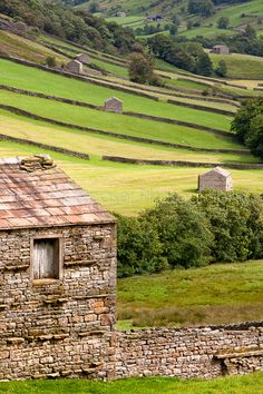 Heart Of The Dales, Yorkshire Dales, England by Chris Ceaser
