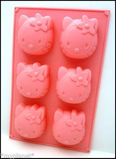 HELLO KITTY JELLY MOULD ICE CUBE TRAY FAIRY CAKES BIRTHDAY PARTY CAKE SHAPER NEW | eBay