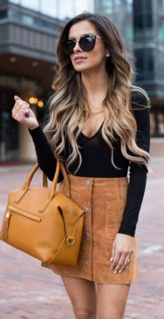 9c164a1347 Amazing Summer Outfits Skirt Ideas 39