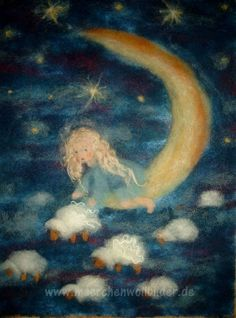 Wollbilder aus Märchenwolle