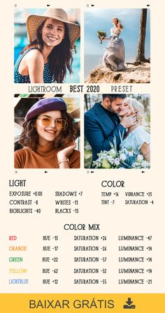 Best Free Lightroom Presets, Professional Lightroom Presets, Photography Editing, Landscape Photography, Photo Editing, Best Vsco Filters, Photo Tips, Color Grading, Color Mixing