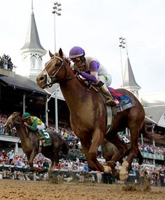 I'll Have Another winning Kentucky Derby