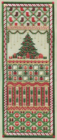 Christmas Panel - Laura J. Perin Designs