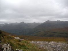 WHW Day 7 - More of the beautiful Scottish highlands on our way to Kinlochleven.  #scotland #westhighlandway