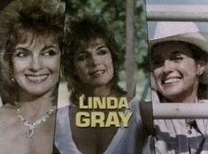 Linda Gray played Sue Ellen Ewing - 308 ep. - 1978-1991