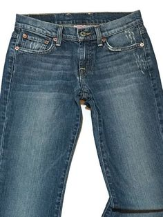 Lucky Brand Jeans Sweet N' Low 00/24 Stretch Distressed Sanded Flare Lowrise #LuckyBrand #SweetnLowFlareStretch