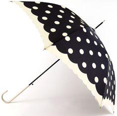 Pare Umbrella: Dots & Scallop