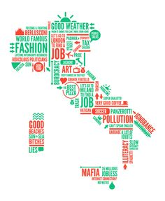 ♥ Italy infographic mapArt and design inspiration from around the world