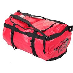 Lifestyle Accessories Large Travel Duffel Red Black