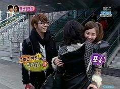 YongSeo in busan with yo~ng's mother