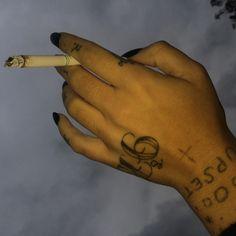weird stick n poke Piercings, Piercing Tattoo, I Tattoo, Taboo Tattoo, Stick N Poke Tattoo, Stick And Poke, Cute Tattoos, Tatoos, Finger Tattoos