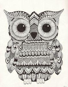 'Owl' by Susan Hoogendoorn