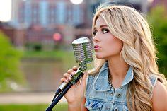 country singer senior photography in Nashville