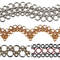 DIY Jewelry Chainmaille Kits Tutorials | Japanese Variations - Project | Blue Buddha Boutique