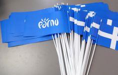 Paberist käsilipp plastikust varrega - http://www.promostar.ee/et/pildid?pid=8158