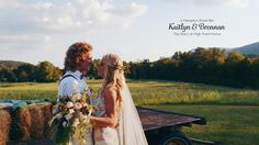 WOW! Awesome wedding... love love love her hair! Boho Wedding with Emotional & Personalized Vows   Kaitlyn & Brennan