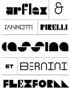 Julien sample logos designed by Peter Bilak and Demetrio Mancini