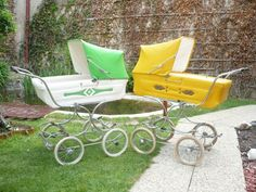 STEGNERY Vintage Pram, Prams And Pushchairs, Baby Carriage, Baby Accessories, Baby Strollers, Nursery, Children, Outdoor Decor, Crafts