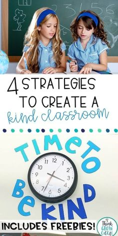 """Promote kindness in your classroom community with these four simple strategies. Create your own """"Kindness Bulletin Board"""" and encourage kindness and random acts of kindness in your classroom with quotes, posters and activities. Great for back to school and all year long! Click for more ideas, information and a kindness freebie, too!"""