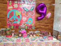 Etelvinne's Cakes: Decoração Hippie