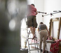 setting up.. Wardrobe Rack, Behind The Scenes, Capri Pants, Photoshoot, Fashion, Moda, Capri Trousers, Photo Shoot, Fashion Styles