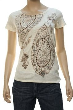 Lucky Brand Women's Paisley Flowers w/Embellished « Clothing Impulse