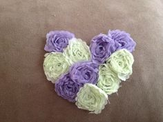 Headband or clip heart by CandysHairbows on Etsy, $5.00