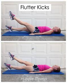 How to do Flutter Kicks #FreeToMove #shop