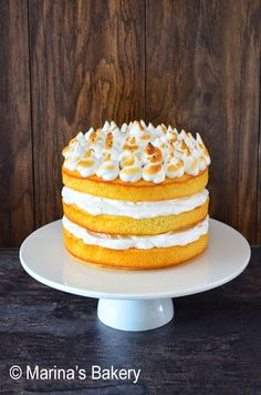 Marina's Bakery: Lemon Meringue Cake