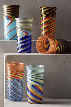 Incalmo Highball Glass - anthropologie.com