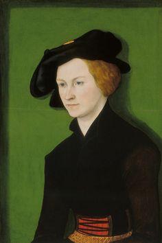 Portrait of a Woman, 1522, by Lucas Cranach the Elder