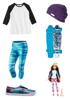 """Project MC2 Cam Themed Outfit"" by gabby12703 ❤ liked on Polyvore featuring NIKE and Vans"