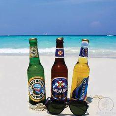 Honduras National Beers! #Roatan