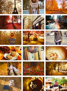 Every one of these pictures make me want to be someONE or someWHERE else.