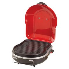 Coleman Fold N Go Portable Grill, Red