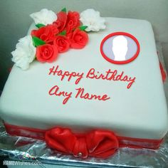 Birthday Cakes With Name And Photo You Will Fall In Love Cake For Wife