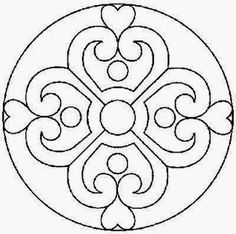 Mandalas To Paint Stained Glass Patterns, Mosaic Patterns, Embroidery Patterns, Chinese Patterns, Mosaic Art, Mosaic Glass, Glass Art, Deco Cuir, Recycled Cds