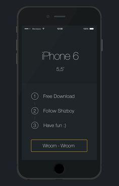 Best iPhone 6 Mockup Design Templates (PSD, Ai, Sketch)