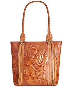 Patricia Nash Burnished Tooled Rena Tote | macys.com I want this bag so much!
