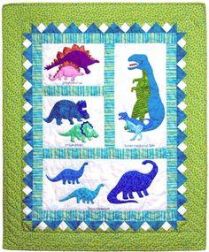 Dinosaur Quilt Pattern
