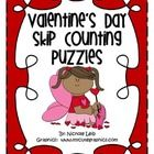Skip Counting Puzzles for Valentine's Day!Count by 2'sCount by 5's3 different designs for each.Perfect for math centers or guided math....