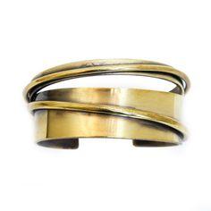 The Paris Market — Brass Cuff