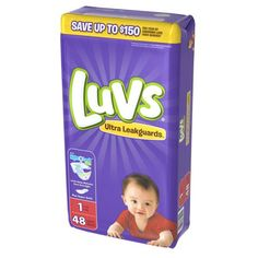 Luvs Ultra Leakguards Newborn Diapers Size 1 48 count Luvs Diapers, Newborn Diapers, Diaper Brands, Diaper Sizes, Disposable Diapers, Baby Skin, Potty Training, Baby Items, Have Time
