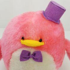 SANRIO VINTAGE RARE Pink Tuxedo Sam Plush Stuffed Toy 1979 - $14.90 | PicClick