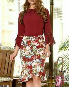 Office Wear Dresses, Dresses For Work, Formal Dresses, Girly Outfits, Skirt Outfits, Casual Outfits, Work Fashion, Modest Fashion, Scarf Shirt