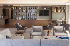 6 hotel hilton samara esrawe Tv Furniture, Furniture Projects, Custom Furniture, Samara, Interior Architecture, Interior Design, Living Spaces, Living Room, Hospitality Design