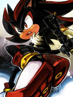 Shadow the Hedgehog  really cool drawing of shadow the hedgehog!